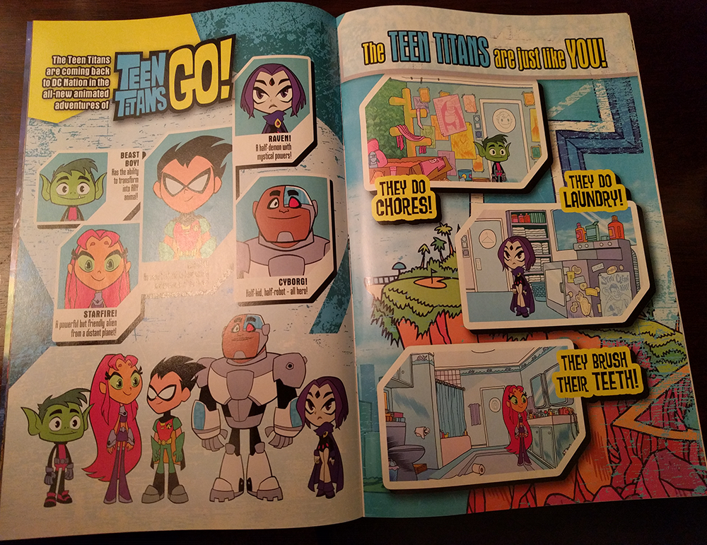 Teen Titans NO!